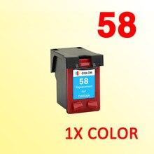 1X чернильный картридж, совместимый с hp58 C6658A, для 58 Deskjet 450ci 450cbi 450Wbt 5150 5150 Вт 5550 5650 Вт 5650