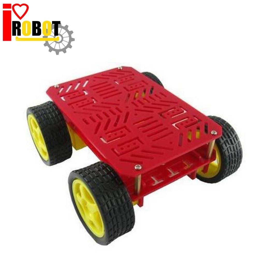 Buy Magic Car 4wd Robot Chassis Robot