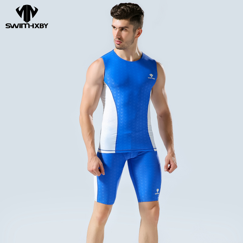 HXBY Professional Competition Swimwear Women Swimsuit Men Women s Swimsuits With Shorts Mens Swim Wear Swimming