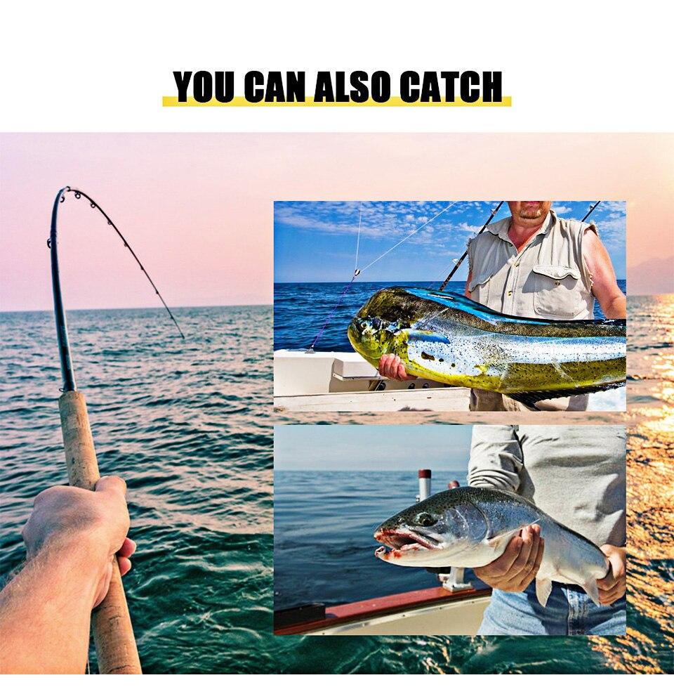 Linhas de pesca
