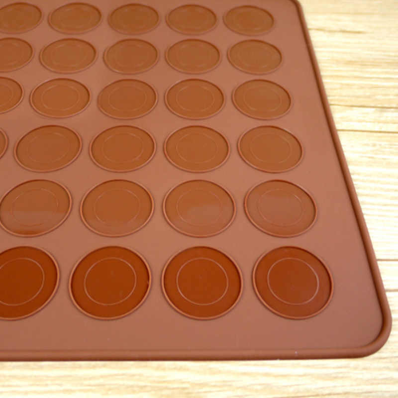 30 חורים macarons בצורת מחבתות סיליקון אפיית מחצלת roasters עוגת אפיית כלים ומחבתות בישול כלים