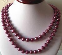 10 mét Fuchsia South Sea Shell Trân Necklace Rope Chain Hạt Thời Trang Jewelry Making Thiết Kế Quà Tặng Cho Phụ N