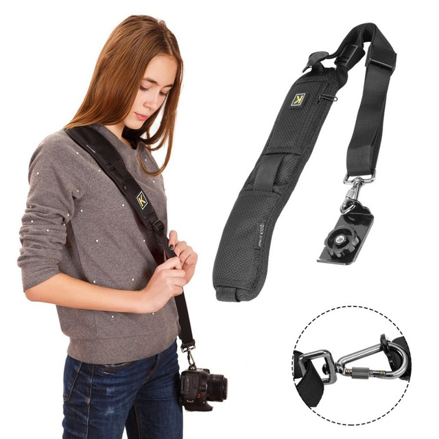 0606a398dc3 Camera Shoulder Strap Convenience Carry Camera Neck Hand Strap Belt Sling  For DSLR Sony For Canon Nikon