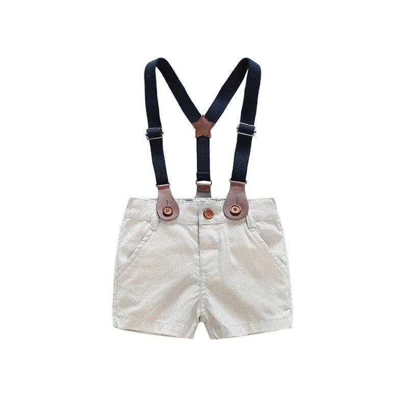 2018 ubranka dla dzieci garnitur Chłopiec krawat Łuk krótka - Odzież dla niemowląt - Zdjęcie 5