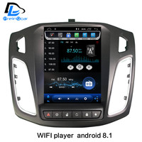 2G RaM Vertical screen android 8.1 car gps multimedia video radio player for ford focus salon 2012 2016 years navigation stereo