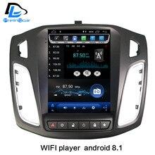 2G RaM вертикальный экран android 8,1 Автомобильный gps мультимедийный видео радио плеер для ford focus салон 2012-2016 лет Навигация стерео