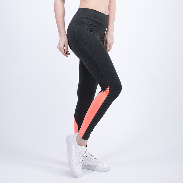 Sport Leggings Patchwork Leggings Stitching High Elasticity Pants High Quality Yoga Leggings Fitness Running Leggings