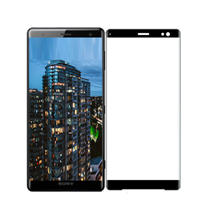 Image 4 - Full Glue Full Cover Curved Tempered Glass For Sony Xperia XZ3 Screen Protector protective film For Sony Xperia XZ3 glass