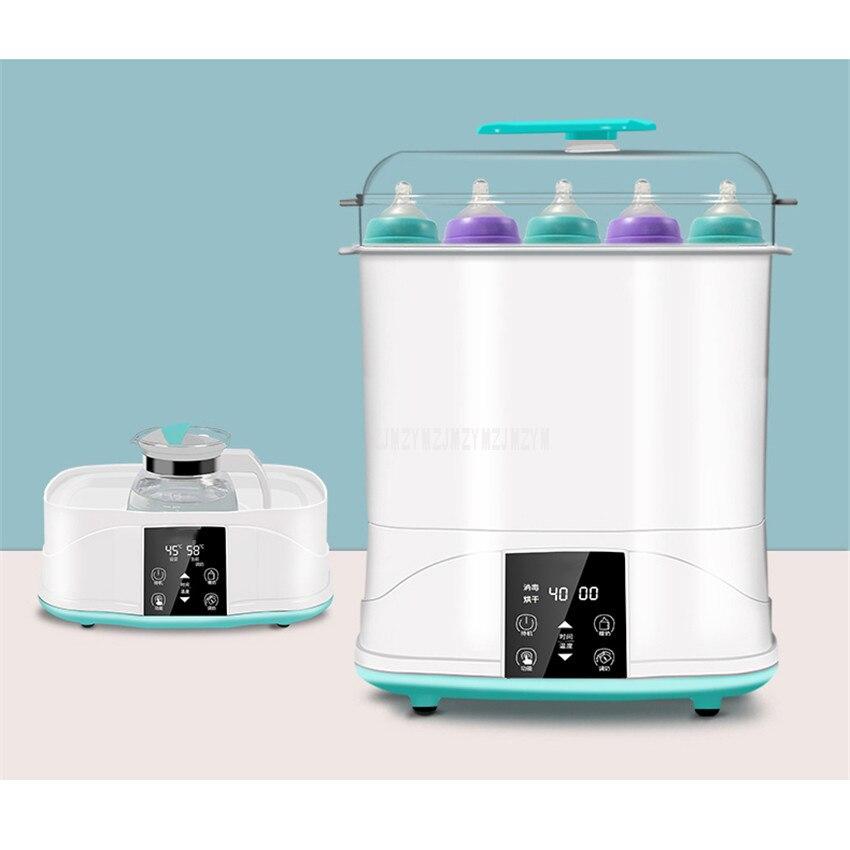 Baby Feeding Milk Bottle Sterilizer With Drying Function Warm Milk Food Warmer Steam Bottle Sterilizing Disinfecting Machine