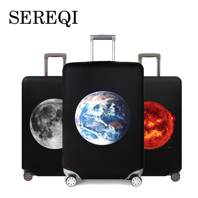 Sereqi2019 New Super Elastic Suitcase Set Of Luggage Cover For 18 32 Inch Trolley Case Dust Cover ??????????????