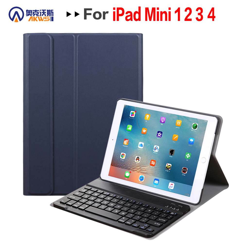 Walkers Bluetooth Keyboard Cover Case for Apple IPad Mini 1 2 3 4 5 2019 released 7.9 Inch Magnetic Removable Detachable CaseWalkers Bluetooth Keyboard Cover Case for Apple IPad Mini 1 2 3 4 5 2019 released 7.9 Inch Magnetic Removable Detachable Case