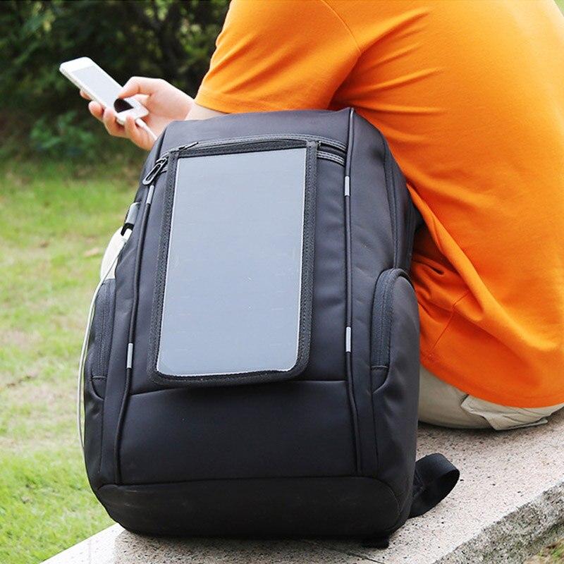 Schultasche Wml99 Rucksack Business Schwarzes Lade Diebstahl Reise Solar Teenager Multifunktions tasche Laptop Männer Yq5q4P