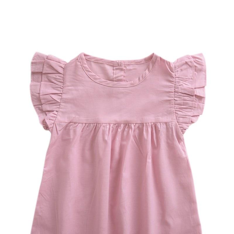 FashionNew Summer Hot Sale Baby Girls Cute Dress Infant Kids Sleeveless Princess Dresses Newborn Children Newly Fashion Clothing