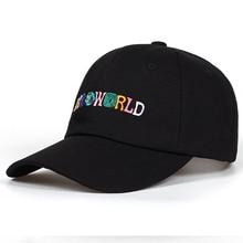 adafa8de2e3 Dad Hat Travis Scott Astroworld Baseball Cap Cotton Snapback Cap ASTROWORLD  For Men Women Hip Hop
