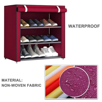 Nonwoven Fabric Simple Shoes Rack 1