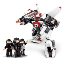 Sluban Model Building Compatible B0337 382pcs Model Building Kits Classic Toys Hobbies Robot Series