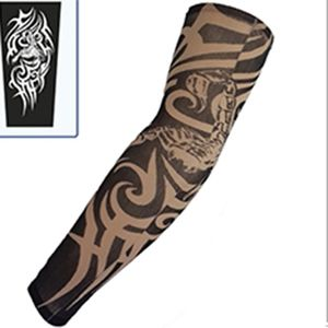 Nylon Stretchy Temporary Tattoo Sleeves Scorpion Printed 1 pc Fashion Arm Stocking Tattoo Stickers