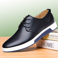 Europe and the United States large size men's shoes youth casual schuhe herren business round head breathable