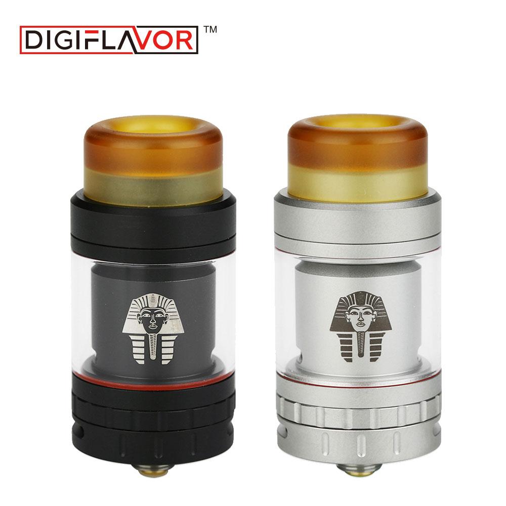 Original Digiflavor Pharaoh Mini RTA Tank 5ml/2ml Diameter 24mm E-cigarette Vape Tank Pharaoh Mini Atomzier Extended 5ml