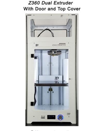 Más JennyPrinter3 Z360 extrusora de doble boquilla 3D DIY KIT de impresora para Ultimaker 2 UM2 se incluyen todas las partes