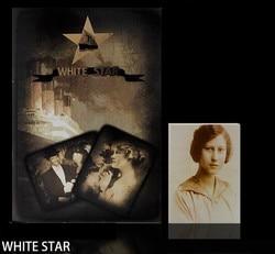 Бесплатная доставка! Белая звезда от Jim Critchlow-магические трюки, титанический список, магии ментализма, крупным планом, сцена, ум, иллюзии, маг...