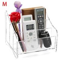 M Transparent Acrylic Remote Control Holder Organizer Storage Box Holder Case Wall Mount Air Conditioner Holder C219 2