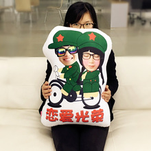 Provide photo A soldier couples  doll cushion Real human pillows Christmas decorations  diy gift  Birthday Valentine's Day jillian hart a soldier for christmas