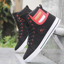 Vulcanize High Top Retro Comfortable Men's Flat Sneakers Shoes