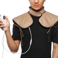 Electric Heating Shoulder Strap Neck Pad 7 Files Thermostat Warm Moxa Moxibustion Shawl Pain relief Cervical Physical Therapy