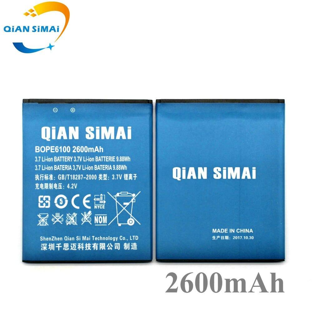 QiAN SiMAi BOPE6100 B0PE6100 2600 mAh Batterie Für HTC Desire 620 620G D620 D620h D620u Desire 820 Mini D820mu A50M Telefon
