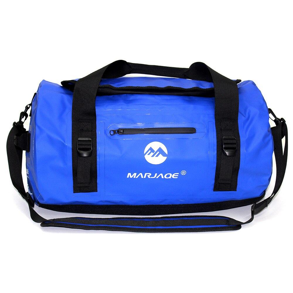 PVC Waterproof Bag Upstreaming Dry Sack 5 Colors Outdoor Kayaking Storage Drifting Waterproof Rafting Bags Package 30L 60L 90L