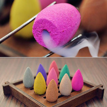 45Pcs Incense Cones Creative Home Decor Reflux Aromatherapy Buddha Censer Backflow Burner Use In Teahouse x