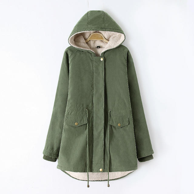 Free Ship UK 2016 Autumn Winter Parka Women Fur Hooded Down Jacket Thick Warm Coat Mint / Army green Blue Black Plus size XL-4XL kn 33 women s winter wear stylish thickened warm hooded down jacket coat army green l