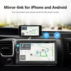 """Image 5 - جانسايت 7 """"2din راديو السيارة مشغل رقمي شاشة تعمل باللمس أندرويد 8.1 مشغل وسائط متعددة مرآة لينك Autoradio دعم كاميرا احتياطية"""
