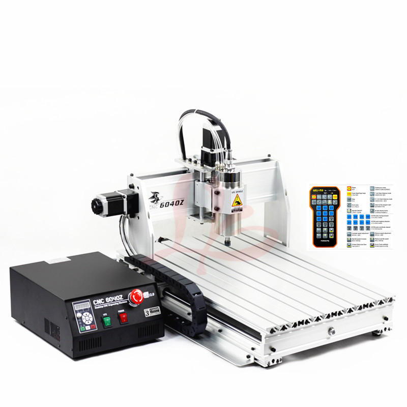 2200W water cooled spindle YOOCNC router 6040 USB port mini cnc engraving machine with limit switch 6040 mini diy cnc frame part for wood router engraving machine with limit switch