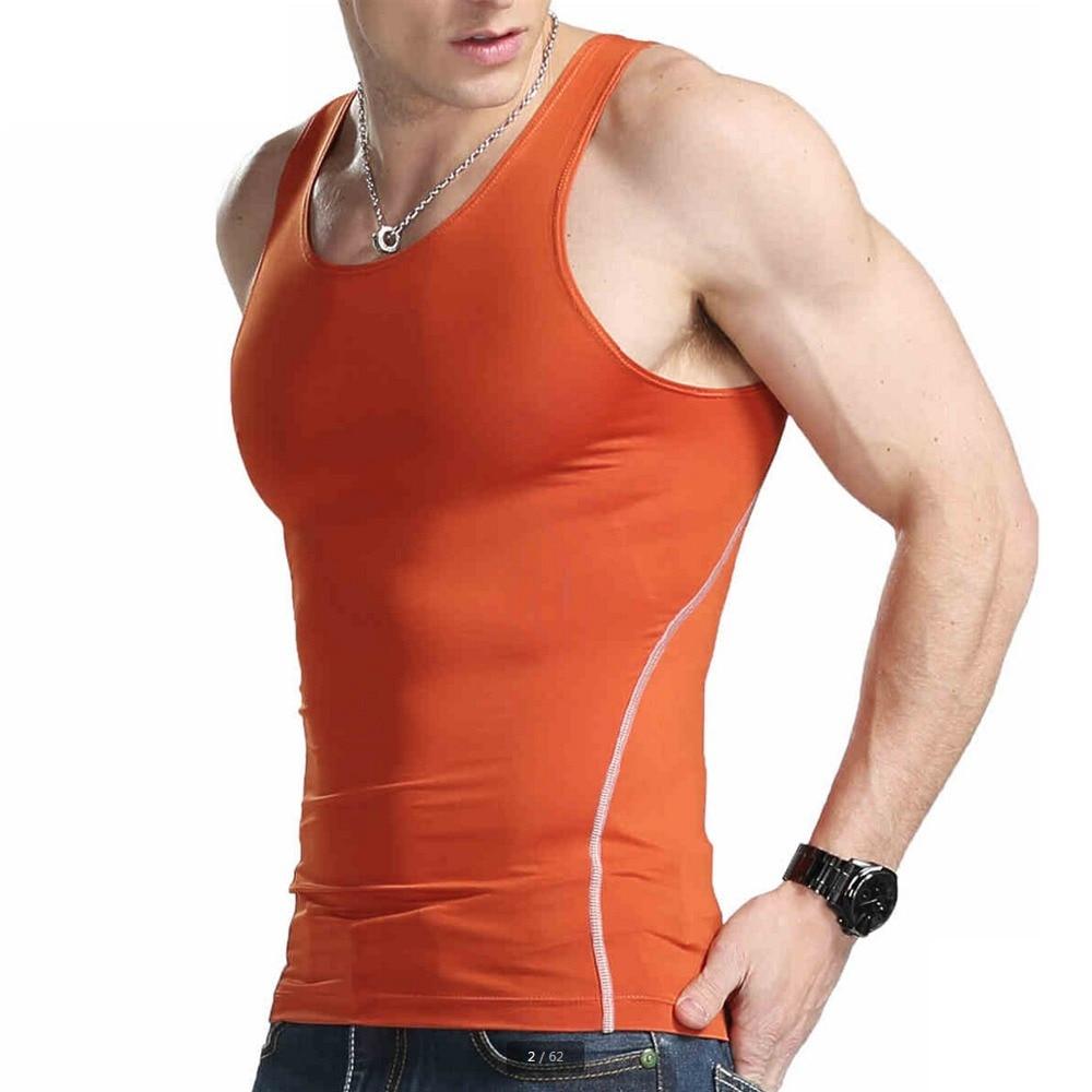 xdian men tank top basic cotton tanks fitness tight singlet sleeveless vest sports athletic gym. Black Bedroom Furniture Sets. Home Design Ideas