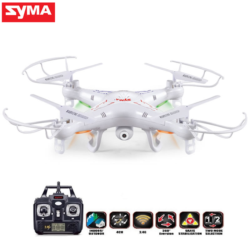SYMA X5C (Upgrade Version) RC Drone 6-Axis Remote Control Helicopter Quadcopter With 2MP HD Camera or X5 Dron Drone Profissional syma x5c drone 4ch 6 axis remote control quadcopter with 2mp hd camera rc helicopter dron toys for children
