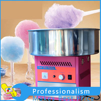 1Pcs Electric Commercial Candy Floss Making Machine Cotton Sugar Maker 220V