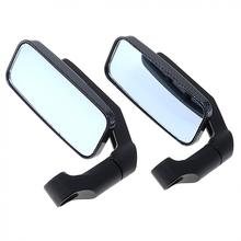 1 Pair Universal Modified Serpentine Universal Motorcycle Rearview Mirror Side Mirrors Handlebar for Motorcycle sp motorcycle handlebar modified very cool rearview mirror holder multi functional extension rod