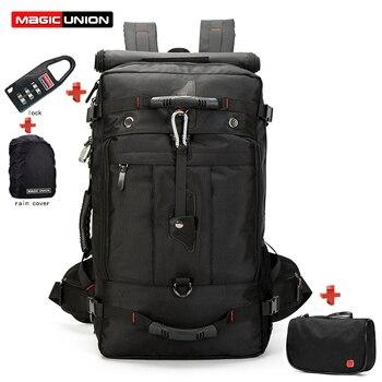 MAGIC UNION 20 pouces hommes sac à dos sac de voyage grande capacité polyvalent utilitaire alpinisme multifonctionnel étanche sacs à dos