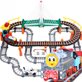 Thomas Electric Trains Set With Rail Toys Baby Toy Gift Model Building Kit Car Racing Boys Girls Educational Toys For Children