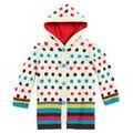 Kids2014spring outono Francês catimini menina casacos casacos crianças Moda infantil da longo-luva camisa de Suor
