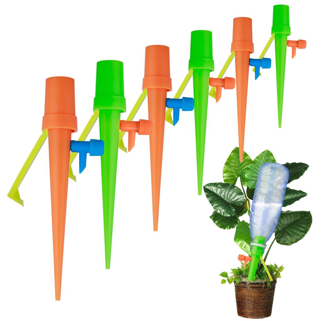 Watering-Spikes Irrigation-System Plant-Waterer Self-Automatic Adjustable 6pcs/Set