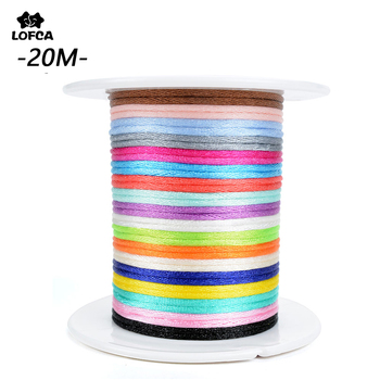 LOFCA DIY Jewelry 20m/pcs Satin Cords For Silicone Teething Necklace Accessary String Bracelet Cord Nylon - discount item  51% OFF Jewelry Making