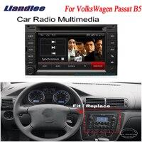 Liandlee для VolksWagen VW Passat B5 2000 ~ 2005 2 din автомобильный радиоприемник для Android gps Navi Nav Карты CD DVD проигрыватель аудио ТВ HD экран OBD2