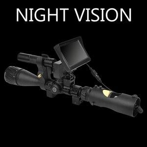 Image 5 - 850nm אינפרא אדום LED IR ראיית לילה Riflescope ציד סקופס אופטיקה Sight ציד מצלמה ציד חיות בר ראיית לילה