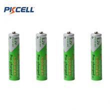 Sale 4pcs Pkcell 1.2V AAA Ni-Mh 600mAh LSD Rechargeable Batteries High Capacity Pre-charged Batteries Set With 1200 Cycle