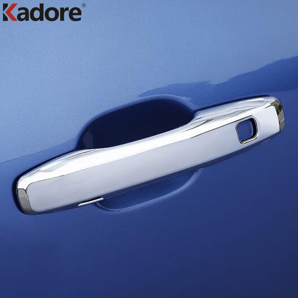 For <font><b>Volvo</b></font> XC60 <font><b>XC</b></font> <font><b>60</b></font> 2018 2019 ABS Chrome Side Door Handle Cover Trim Car Stickers Exterior Accessories Car Styling image