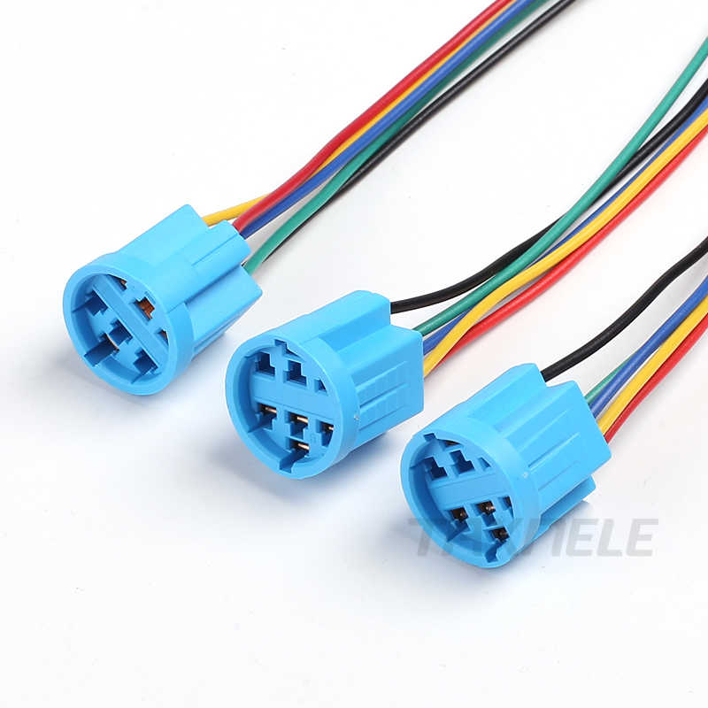 16 Mm 19 Mm 22 Mm Kabel Soket untuk Logam Push Button Switch Kabel 2-6 Kabel Stabil Lampu tombol Lampu