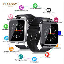 Bluetooth Smart Watch Smartwatch  Android Phone Call Relogio 2G GSM SIM TF Card Camera for iPhone Samsung HUAWEI PK GT08 A1 цена